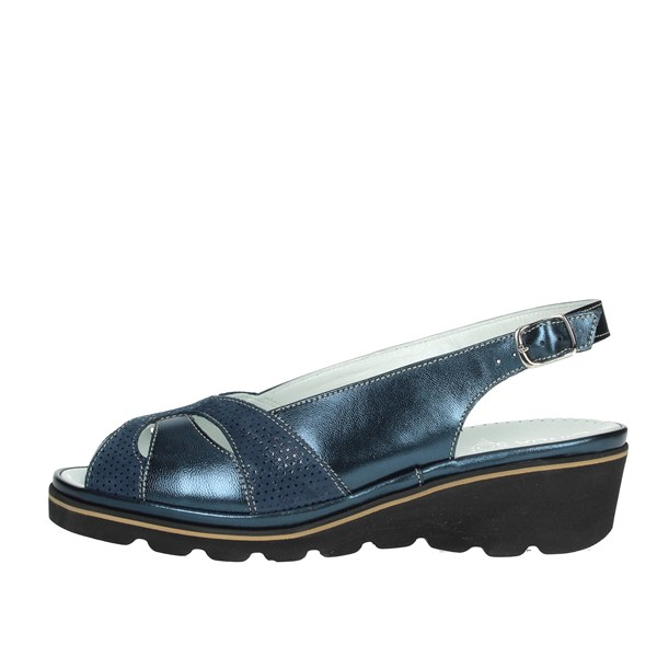 Cinzia Soft Shoes Sandals Blue IPMADRID-SM