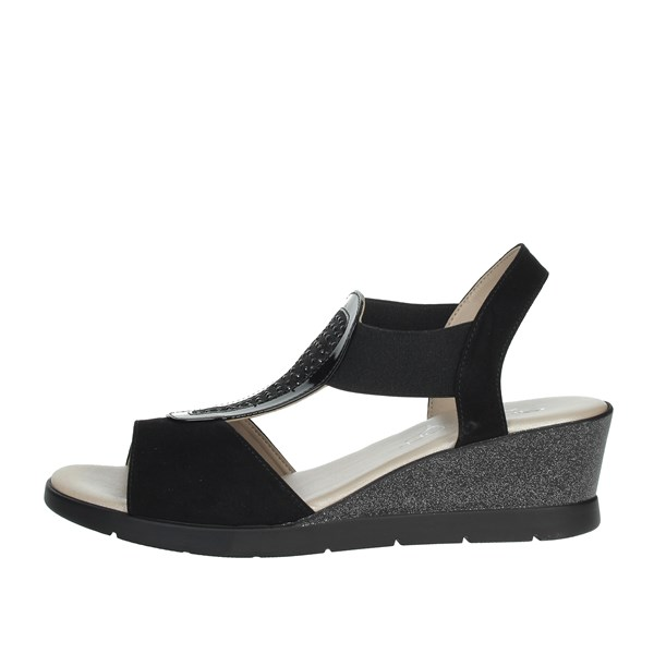 Cinzia Soft Shoes Sandals Black IAB782823-CPG