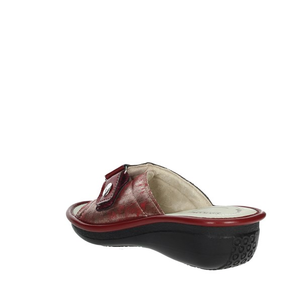 Sanycom Shoes slippers Red 1025