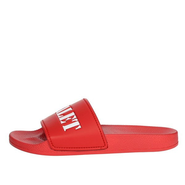 Adalet Shoes Clogs Red AD1000