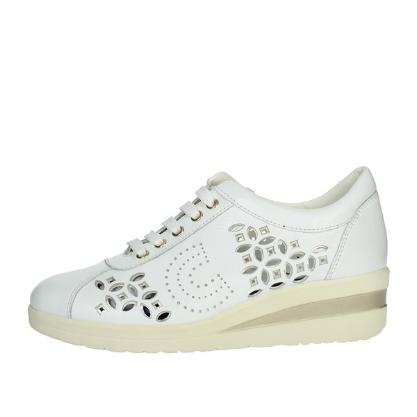 Cinzia Soft Shoes Sneakers White/Gold IV10882-LG