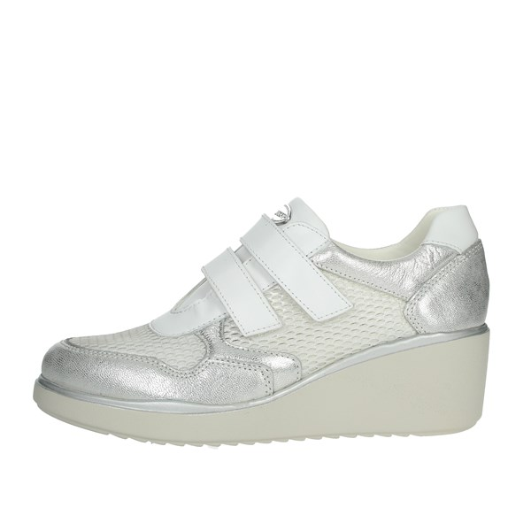 Cinzia Soft Shoes Sneakers White/Silver IV10662-GTL