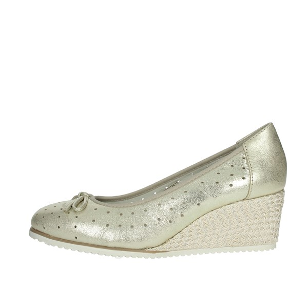 Cinzia Soft Shoes Heels' Platinum  IV10871-GER