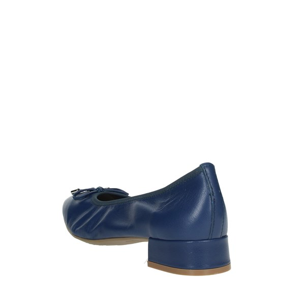Cinzia Soft Shoes Ballet Flats Blue IV10258-KFE