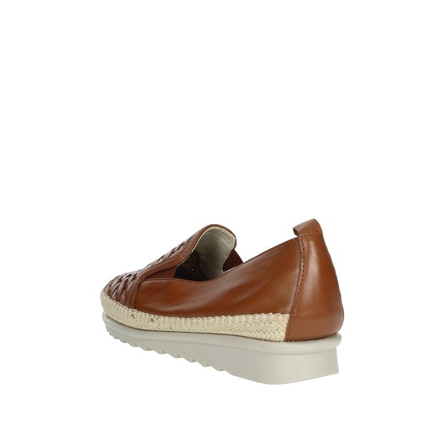 Cinzia Soft Shoes Loafers Brown leather IV10736-AW