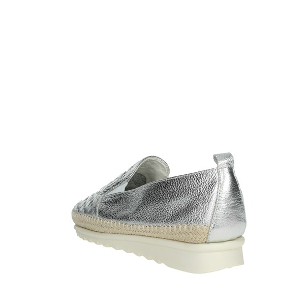 Cinzia Soft Shoes Loafers Silver IV10736-DW