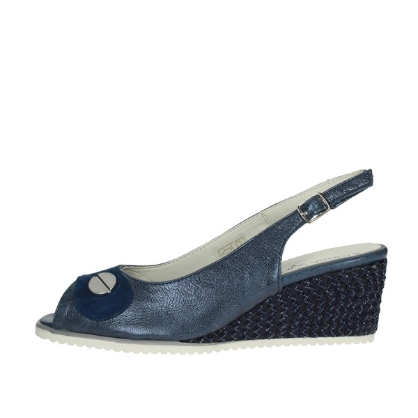 Cinzia Soft Shoes Sandals Blue IV10532-GSM