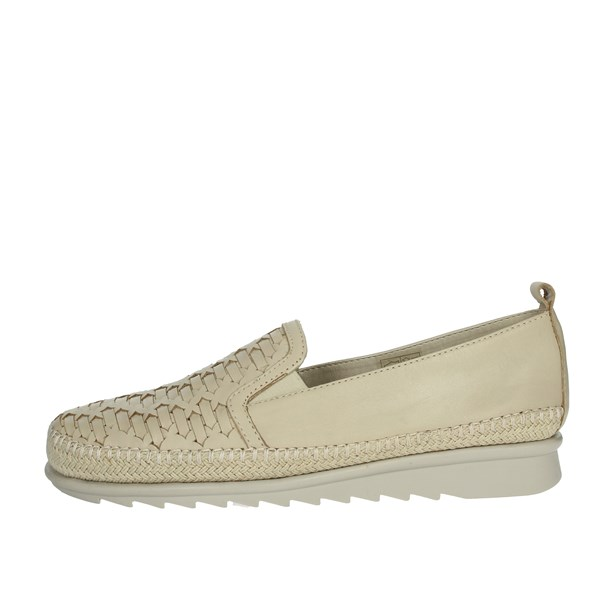 Cinzia Soft Shoes Loafers Beige IV10736-AW