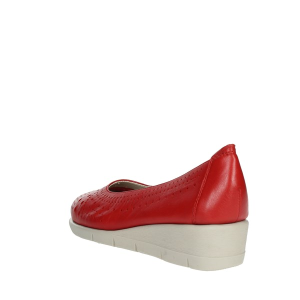 Cinzia Soft Shoes Ballet Flats Red IV10230-NS