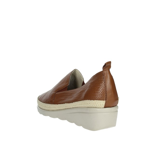Cinzia Soft Shoes Loafers Brown leather IV10820-AW