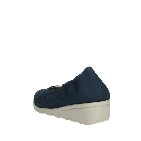 Cinzia Soft Shoes Ballet Flats Blue IV10732-O