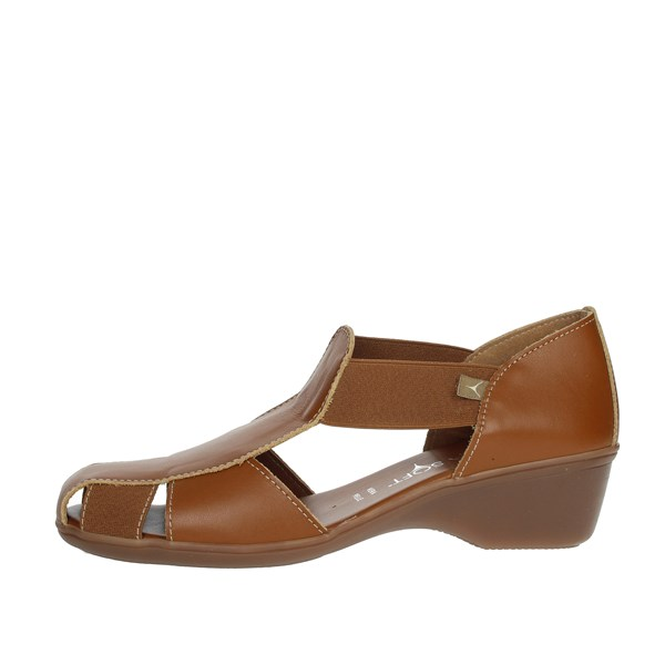 Cinzia Soft Shoes Loafers Brown leather IE8050