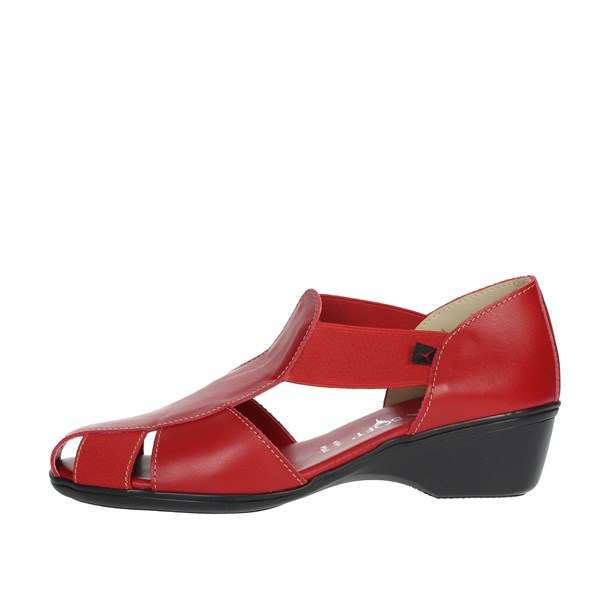 Cinzia Soft Shoes Loafers Red IE8050
