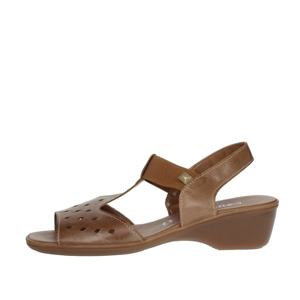 Cinzia Soft Shoes Sandals Brown IE8046ZK