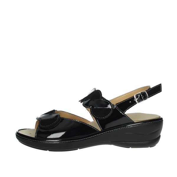 Cinzia Soft Shoes Sandals Black IO631P-VC