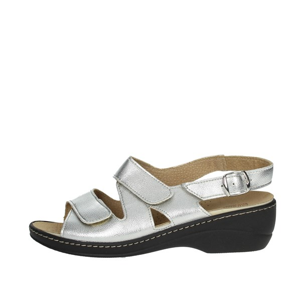 Cinzia Soft Shoes Sandals Silver IAEH18-E