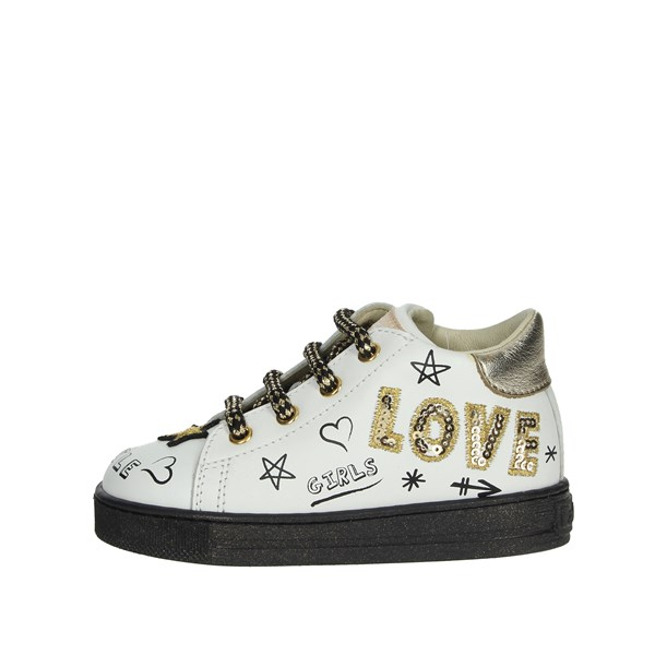 Falcotto Shoes Sneakers White/Gold 0012012851.01.0N01