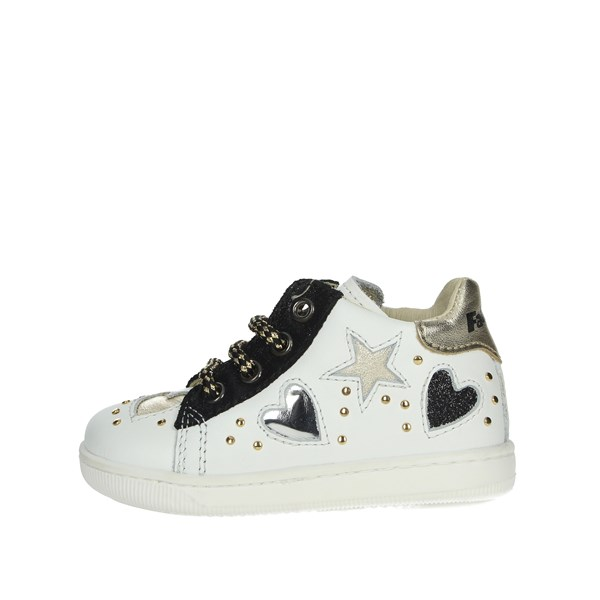 Falcotto Shoes Sneakers White/Black 0012012896.01.1N03