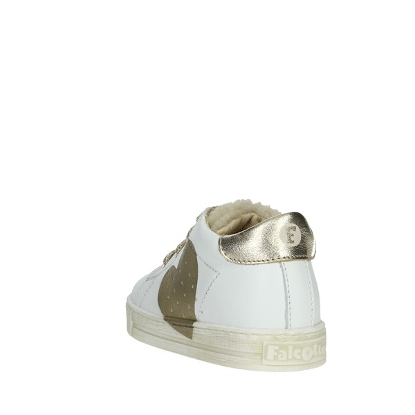 Falcotto Shoes Sneakers White/Gold 0012012816.05.0N01