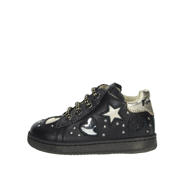 Falcotto Shoes Sneakers Black/Gold 0012012896.01.1A09