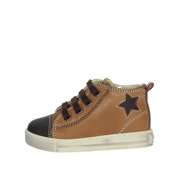 Falcotto Shoes Sneakers Brown leather 0012012835.01.1D18