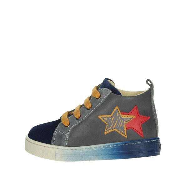 Falcotto Shoes Sneakers Grey/Blue 0012012819.01.1C17