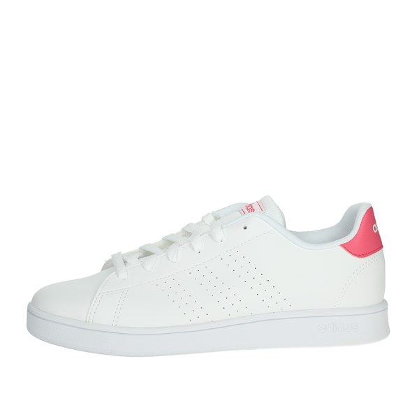 Adidas Shoes Sneakers White/Fuchsia EF0211