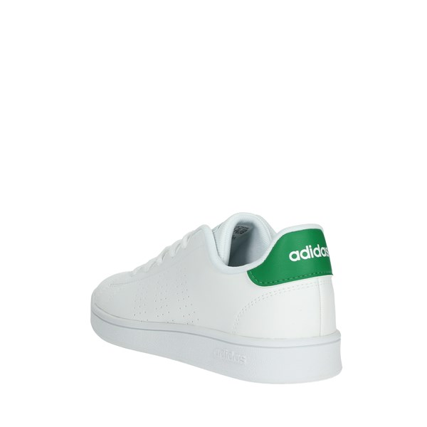 <Adidas Shoes Sneakers White/Green EF0213