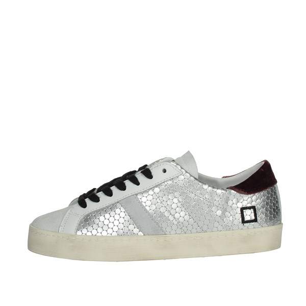 D.a.t.e. Shoes Sneakers Silver HILL LOW-10I