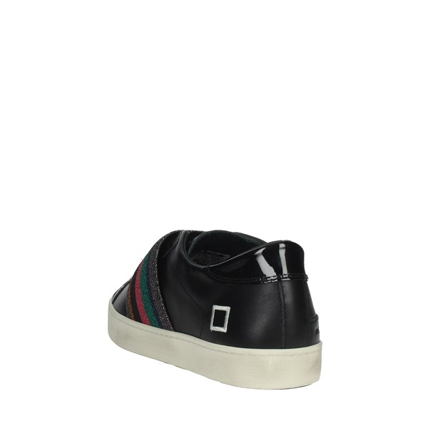 D.a.t.e. Shoes Sneakers Black HILL LOW-11I