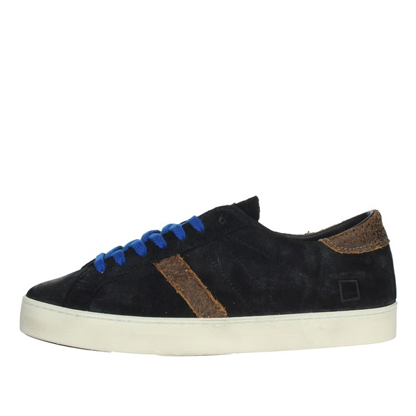 D.a.t.e. Shoes Sneakers Black HILL LOW-7I