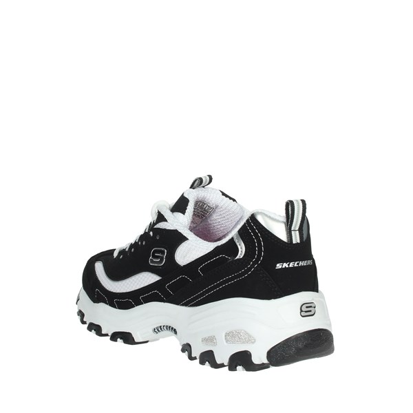 Skechers Shoes Sneakers Black/White 11930