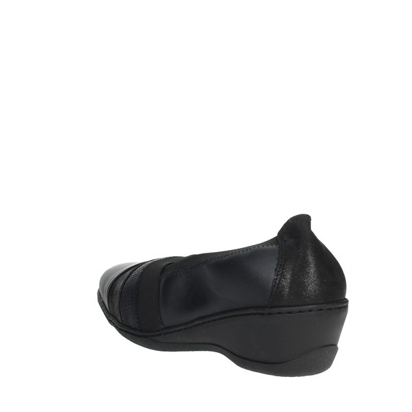Notton Shoes Loafers Black 2237
