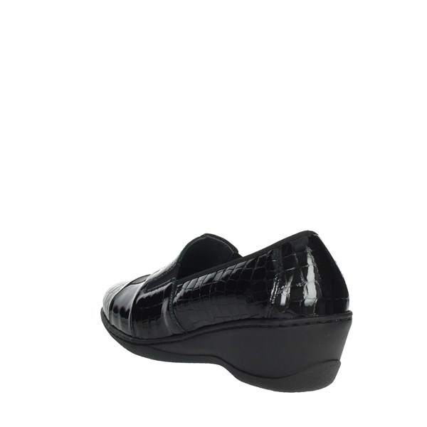 Notton Shoes Loafers Black 2298