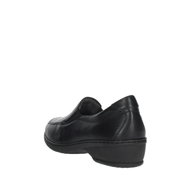 Notton Shoes Loafers Black 2371