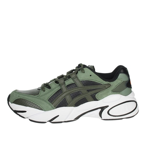 Asics Shoes Sneakers Dark Green 1021A216