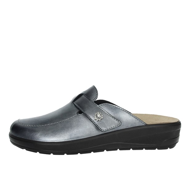 Grunland Shoes slippers Charcoal grey CE0627-59