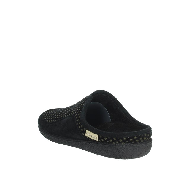 Grunland Shoes slippers Black/Green CI2048-58