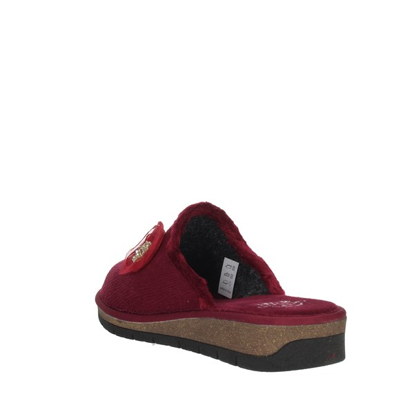 Grunland Shoes Clogs Burgundy CI1687-G7