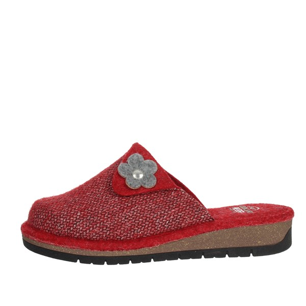 Grunland Shoes Clogs Red CI1454-G7