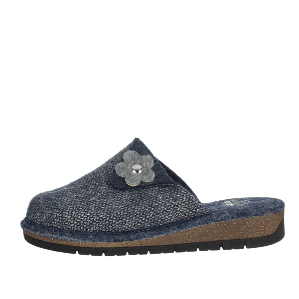 Grunland Shoes Clogs Blue CI1454-G7