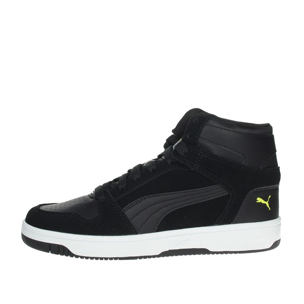 Puma Shoes Sneakers Black/Yellow 370494