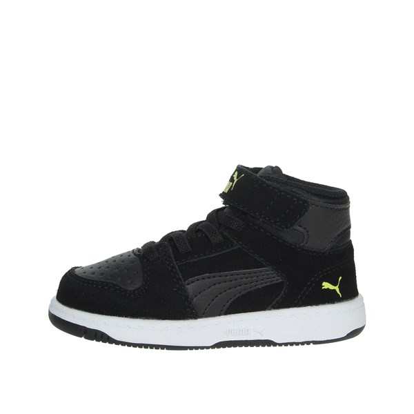 Puma Shoes Sneakers Black/Yellow 370496