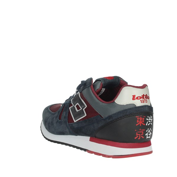 Lotto Leggenda Shoes Sneakers Blue/Burgundy L58233