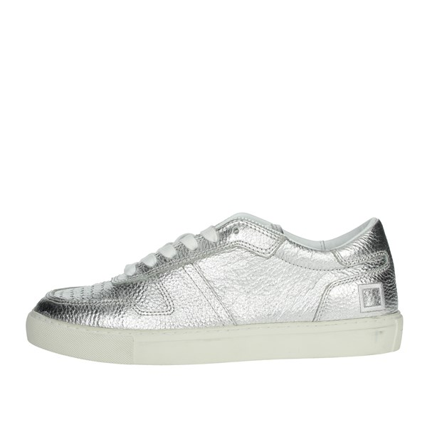 D.a.t.e. Shoes Sneakers Silver E20-9