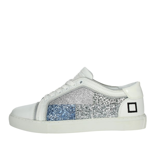 D.a.t.e. Shoes Sneakers White/Silver E20-7