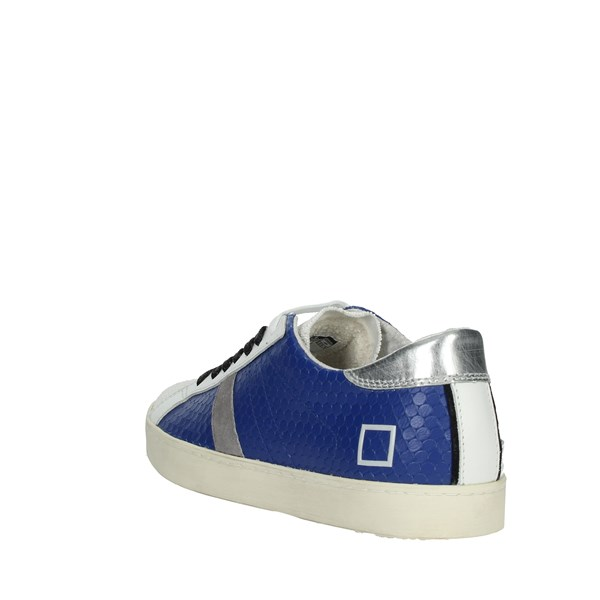 D.a.t.e. Shoes Sneakers White/Blue E20-14