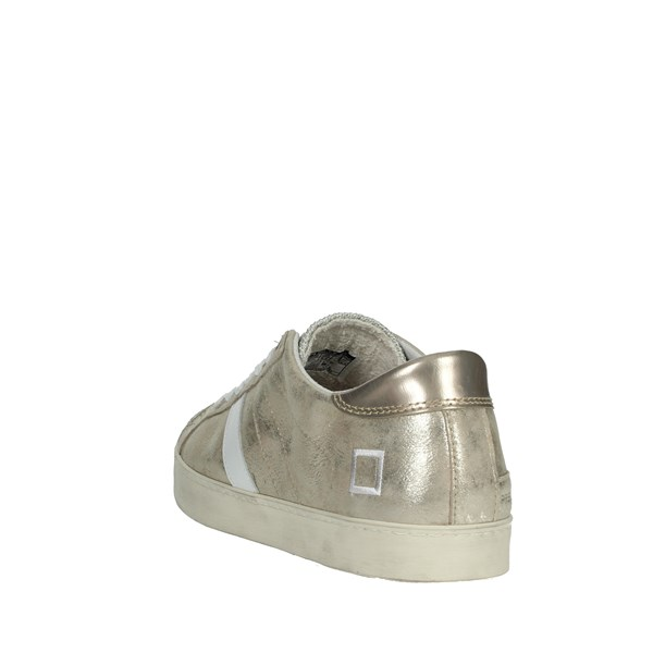 D.a.t.e. Shoes Sneakers Platinum  E20-19