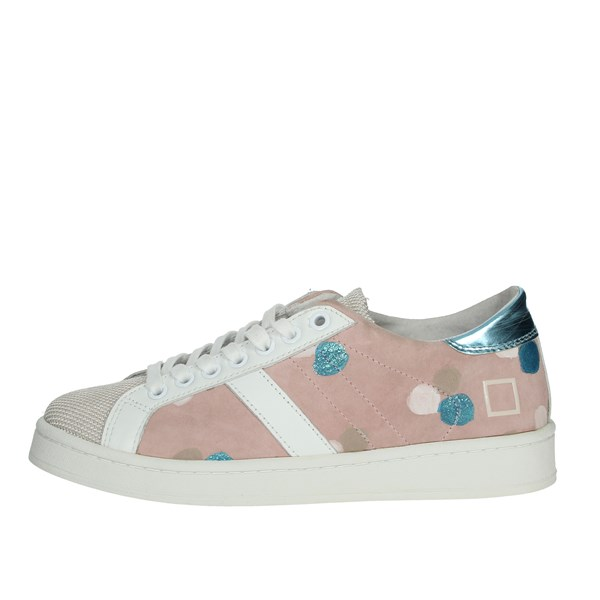 D.a.t.e. Shoes Sneakers White/Pink E20-35