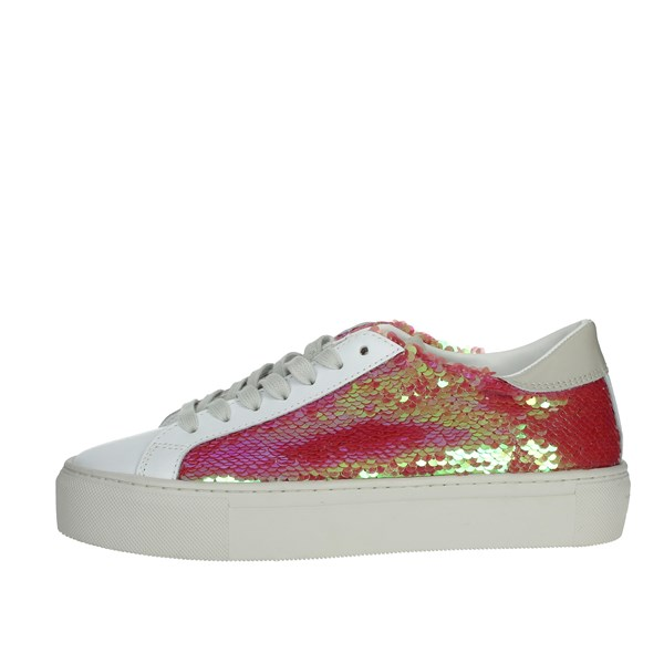 D.a.t.e. Shoes Sneakers White/Pink E20-34